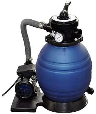 Bomba de Filtro de Arena, para Mangueras con un Diámetro de 32mm o 38mm, Depuradoras para Piscinas Desmontables, para Mantener la Piscina Limpia y Libre de Partículas(400 W 11000 l/h)