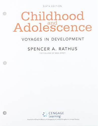 Bundle: Childhood: Voyages in Development, Loose-Leaf Version, 6th + MindTap Psychology, 1 term (6 months) Printed Acces