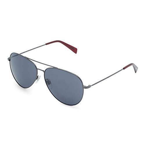 LEVI'S EYEWEAR Unisex-Kinder LV 1006/S Sonnenbrille, DKRUT RED, 60