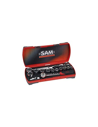 SAM Outillage 75-SH23Z Coffret de douilles/accessoires 1/2\