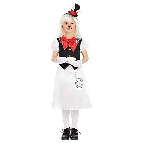 Fun Shack Blanca Conejo Blanco Disfraz para Nias - L