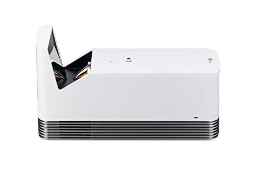 LG Electronics Beamer HF85LSR bis 304,8 cm (120 Zoll) CineBeam Laser Full HD Projektor (1500 Lumen, smarte Funktionen, Laser 20000) weiß