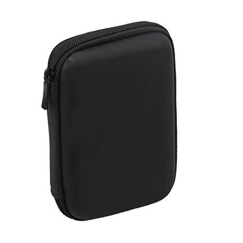 Runfon Mini USB 3.0 / USB 2.0 De 1 TB De Disco Duro Externo Móvil del Bolso 301558 Compacto De Disco Duro Portátil Case-Negro Accesorios Durable