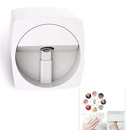 OD.zepp Professionele 3D Digital Nail Art Printer, Easy All-Intelligent-drukmachine manicure apparatuur ontwerp op natuurlijke nagel en kunstmatige nagel