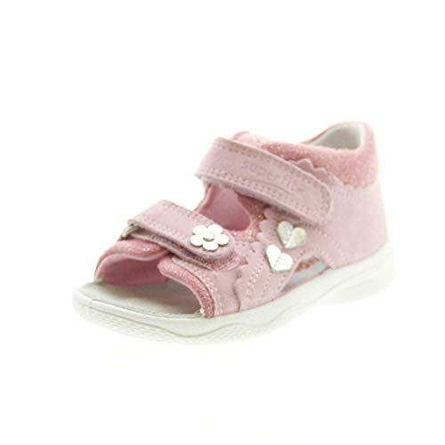 Superfit Baby Mädchen POLLY Sandalen, Pink (Rosa 55), 24 EU