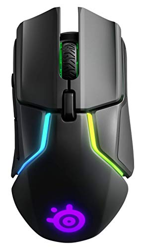 SteelSeries Rival 650 - Quantum Wireless gaming mouse - Dual optical sensor - Customizable lift-off distance - Tunable weight system