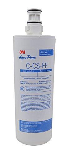 3M Aqua-Pure Under Sink Full Flow Replacement Cartridge AP Easy C-CS-FF, 5632108