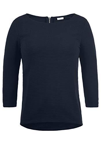 ONLY Gretel Damen Sweatshirt Pullover Sweater Mit Rundhalsausschnitt, Größe:S, Farbe:Sky Captain