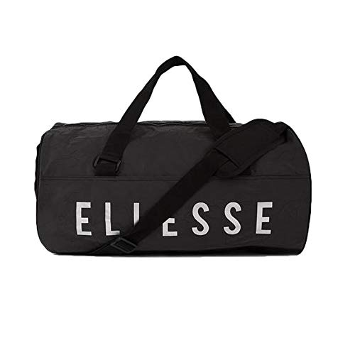 ellesse DENMA BARREL BAG, Sacs bandoulière mixte adulte, Noir (Black), 15x24x45 cm (W x H L)