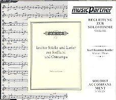 Violine Leichte Stücke und Lieder aus Russland und Osteuropa : CD mit der Klavierbegleitung zur Violine