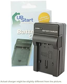 Upstart Battery Replacement for Panasonic DMW-BCJ13PP Charger - Compatible with Panasonic DMW-BCJ13 Digital Camera Chargers (100-240V)