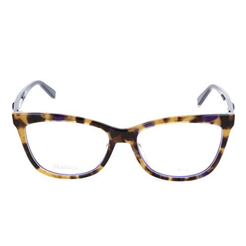 Max Mara MM 1263 U8E 52 Gafas de sol, Azul (Blue Havana), Mujer