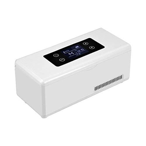 TUNBG Medicine Kühlschrank Und Insulin-Kühler Mit Temperaturregelung Tragbare Medikamente Kühlbox Für Auto Reise Insulin Kühlbox (23,5X10,5X11 cm (9,25X4,13X4,33 Zoll)