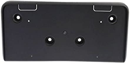 Perfect Fit Group REPC017317 - Equinox Front License Plate Bracket, Textured (Black)