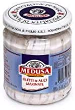 Medusa White Anchovy Fillets, 200g