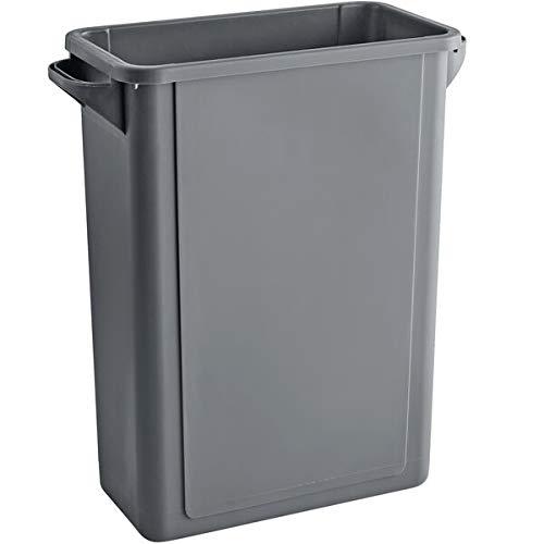 64 Qt. 16 cheap Gallon Ranking TOP15 60 Liters Gray Slim Trash Rectangular w Can