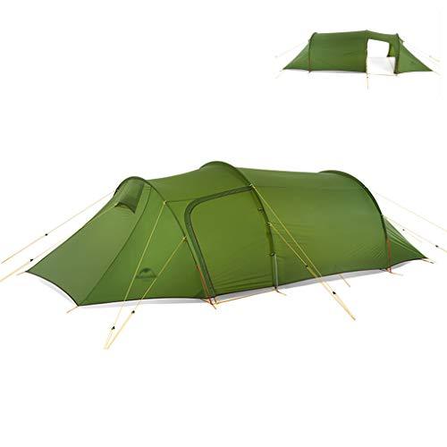 Tent chapiteaux Ultra Light Tunnel d'alpinisme De Haute Qualité 3-4 Personnes Quatre Saisons Aluminium Parenthèse De Camping en Plein Air