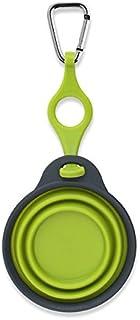كوب ديكساس بوبوير للسفر للحيوانات الأليفة مع حامل زجاجة وحلقة 10.75 X 4.5 X 0.50-inches PW220432383