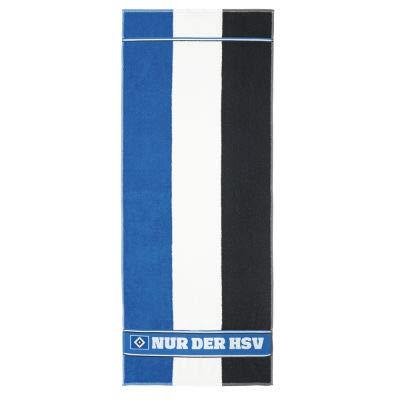 HSV Hamburger Sportverein Saunatuch Blockstreifen