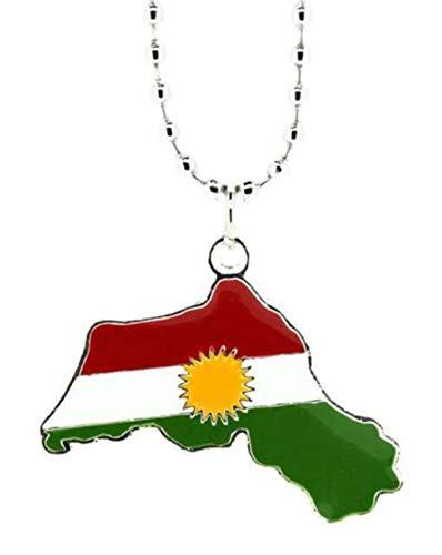 Doktor Hardstuff Kurdistan Anhänger Halskette