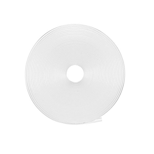 Sourcingmap Schrumpfschlauch 2: 1Elektrische Isolierung Tube Draht Kabel Tubing sleeven Wrap Klar 13mm Durchmesser Länge: 5m