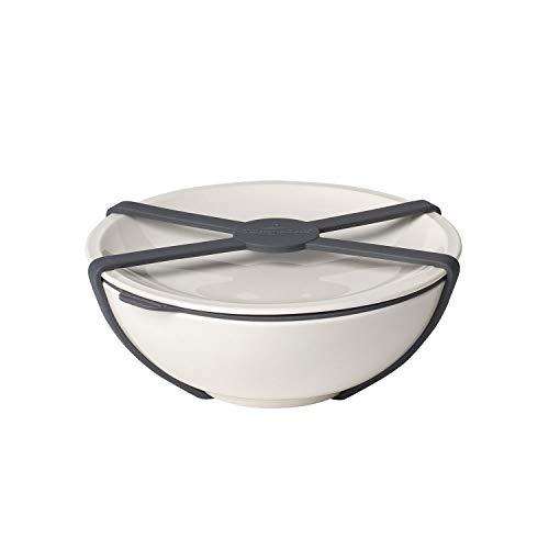 Villeroy & Boch To Go Schale M, Premium Porzellan, Weiß, 350ml