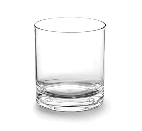 Lacor 63141 - Set de 6 Vasos de Whisky, Tritán libre de BPA, 400 ml