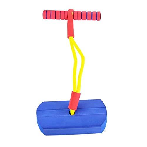 Wghz Pogo Stick Pogo Stick para niños, Saltador para niños, diversión al Aire Libre, bastón de Salto, Soporte, Entrenamiento de Equilibrio, Juguete de práctica física para niños y niñas, 2 Colore