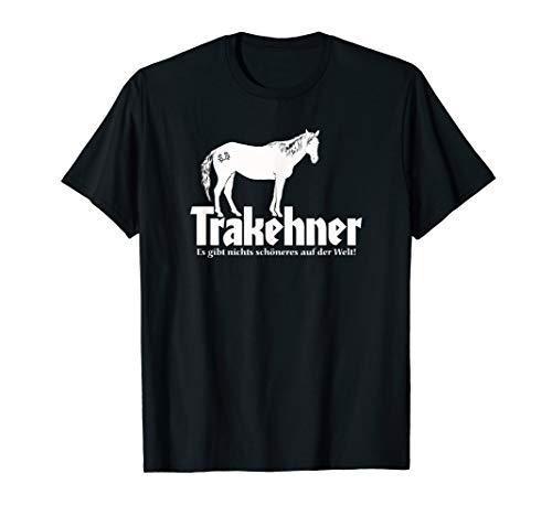 Ostpreußen Trakehner Silhouette Mit Brandzeichen 4 T-Shirt