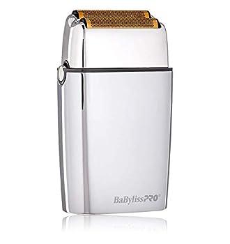 BaBylissPRO FXFS2 FOILFX02 Cordless Metal Double Foil Shaver Silver