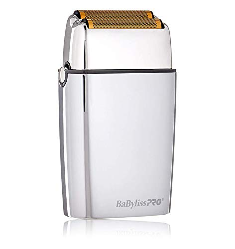 BaBylissPRO FXFS2 FOILFX02 Cordless Metal Double Foil Shaver, Silver
