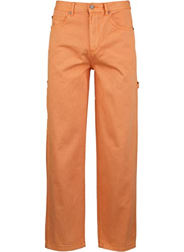 Karl Kani Denim Baggy Jeans Coral