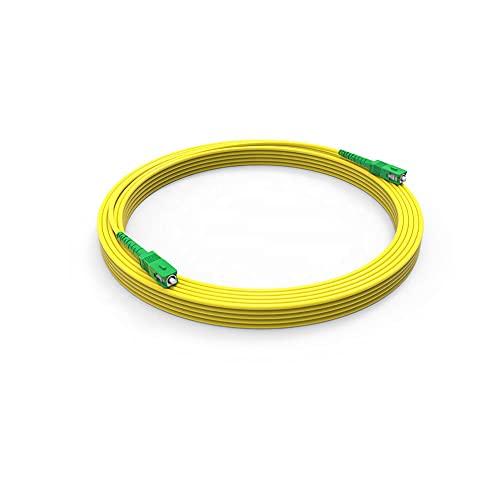 Cavo patch in fibra ottica SC APC per SC APC 5M Simplex Monomodale 9 125μm Cavo Fibra Ottica LSZH,5M