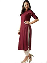 AnjuShree Choice Women Stitched Rayon Kurti