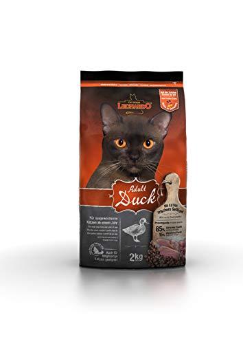 Leonardo Adult Duck [2kg] Katzenfutter | Trockenfutter für Katzen | Alleinfuttermittel für ausgewachsene Katzen Aller Rassen ab 1 Jahr
