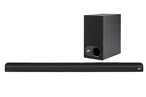 "Polk Audio Signa S1 Inalámbrico Negro Altavoz soundbar - Barra de Sonido (Dolby Digital 5.1, 2,54 cm (1""), 2,5 cm, Inalámbrico, 899,9 mm, 81,8 mm)"