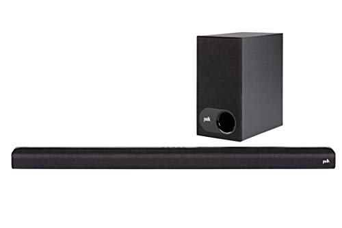 Polk Audio Signa S1 Inalámbrico Negro Altavoz soundbar - Barra de Sonido (Dolby...