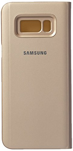 Samsung Clear View Standing, Funda para smartphone Samsung Galaxy S8 Plus, Oro