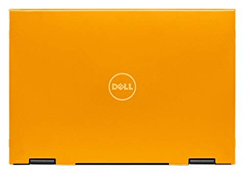 mCover Hard Shell Case for 13.3' Dell Latitude 13 3390 2-in-1 Business Laptop Computers Released After Jan. 2018 (NOT Compatible with Other Dell Latitude Computers) (Orange)