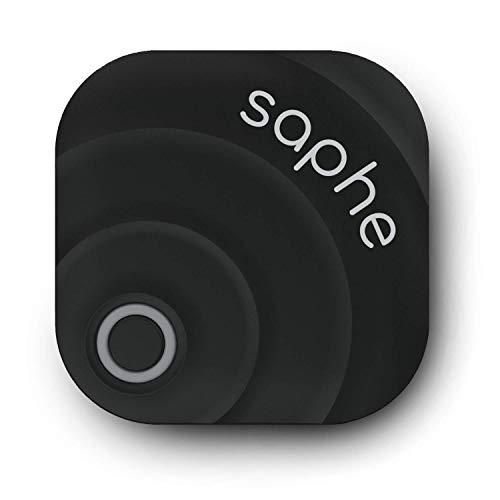 Saphe MC Dispositivo per le allerte autovelox, segnalatore autovelox per moto con segnale acustico, Funziona in tutta Europa, posizionato nel casco, si avvia automaticamente via Bluetooth.