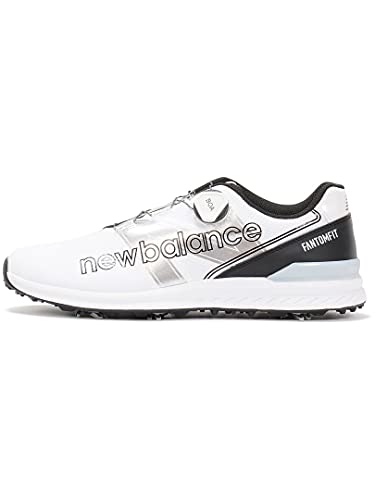 [ニューバランス] ゴルフシューズ UGBF996 スパイク/ボアクロージャー WHITE/BLACK(X) 22.5 cm D