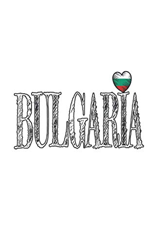 Bulgaria: Din A5 Bulgaria heart notebook Sofia gift with 120 pages