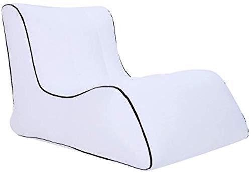 Opblaasbare Sofa Adult Beanbag - Grote zitzak for binnen en buiten gebruik - Water Resistant- Perfect Lounge of Gaming Chair - Huis of tuin Bean Bag leilims (Color : A)