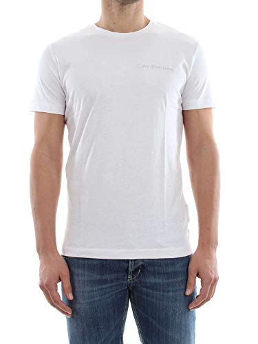 Tommy Hilfiger Typoko Slim Cn tee SS Camiseta, Blanco (Bright White 112), XX-Large para Hombre