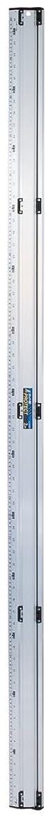 エレガントポジション少年シンワ測定 アルミカッター定規 カット師PROTECT 2m 併用目盛 65068