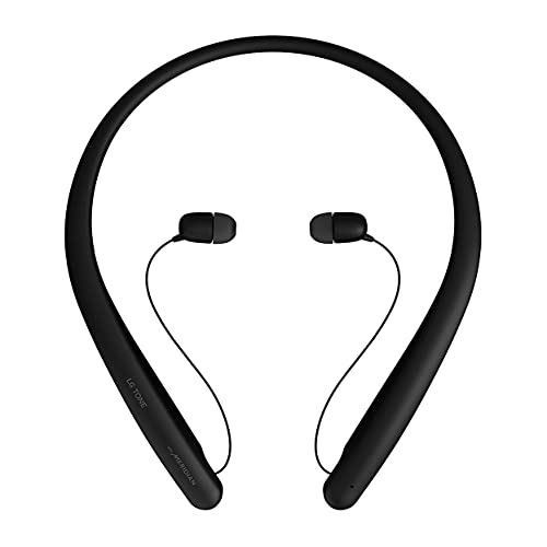 LG Tone Style HBS-SL5 Bluetooth Wireless Stereo Neckband Earbuds Tuned by Meridian Audio