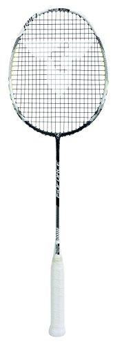 Talbot-Torro Badmintonschläger Isoforce 1011.7, 100% Carbon4, ultraleichte 80g Gesamtgewicht durch Graphitgriff, 439541
