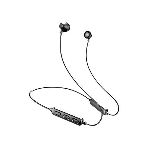 Auriculares Bluetooth Deportivos,LSGGTIM Auriculares InaláMbricos Intraaurales De Banda Al Cuello,Auriculares Bluetooth 5.0 InaláMbricos MagnéTicos,Compatible con TeléFonos MóViles Tabletas