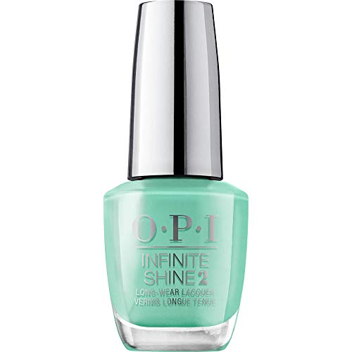 OPI Infinite Shine 2 Long-Wear Lacquer, Withstands The Test Of Thyme, Green Long-Lasting Nail Polish, 0.5 fl oz