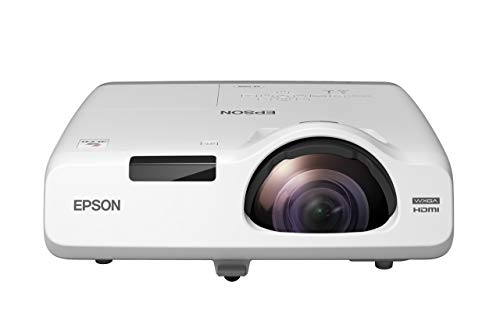 Epson EB-535W Videoproiettore WXGA, 1280 x 800, 16:10, Tecnologia 3LCD, 3400 Lumen, Contrasto 16000:1, Connessione USB/RS-232C/Ethernet/LAN/VGA/HDM/Composite/Component/S-Video/Jack 3.5mm/Cinch